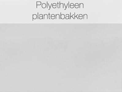 Polyethyleen plantenbakken