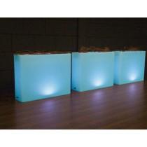 Vaso rettangolare LED draadloos