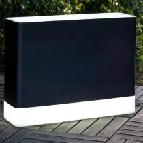 Vaso rettangolare light zwart