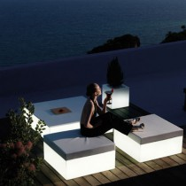 Quadrat tafel Light