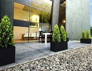 Langwerpige plantenbakken voor buiten designpotten